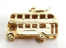 Vintage 9ct Gold Charm - Bus 1.72g (Hallmarked) 9k 375