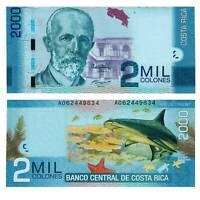 Pick 275 Costa Rica 2000 Colones 2013  Unc.  / 5848912vvv.