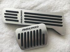 08 09 10 11 12 Mazda6 Mazdaspeed Manual Aluminum Gas rest Pedal kit MT Pedals