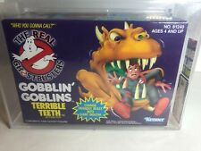 1990 KENNER REAL GHOSTBUSTERS GOBBLIN GOBLINS TERRIBLE TEETH AFA 85 MISB