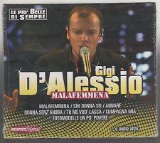 GIGI D'ALESSIO LE PIU' BELLE DI SEMPRE MALAFEMMENA CD SIGILLATO!!!