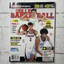 ATHLON SPORTS College Basketball Magazine 2021-22 Preview Top 100 Players