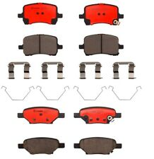 Brembo Front and Rear Ceramic Brake Pad Set Kit For Chevrolet Cobalt Pontiac G6
