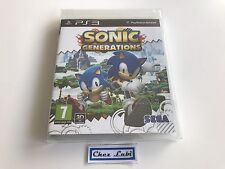 Sonic Generations - Sony PlayStation PS3 - FR - Neuf Sous Blister