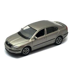 2006 Skoda Octavia Sedan Mk2 1Z Silver Welly NEX 1:60 1:64 No. 52273