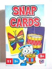 CHILDREN'S SNAP CARDS - Kids Game Family Fun Playing Cards Party Bag Toys