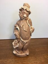 Vintage Carlton Originals Clown 1971 Sad Clown Soap Stone or Clay-like Material
