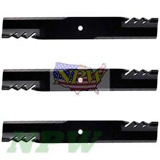 3 COPPERHEAD Blades for John Deere 54C X465 X475 X485 X495 Z425 Z445 MIU11251
