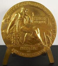 Médaille allégory of Research Les recherches et inventions à Roëland Blin medal