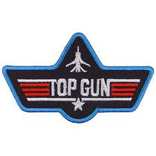 TOPGUN Logo Embroidered Iron On Patch #PTG031