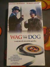 Wag the Dog (VHS, 1998) Dustin Hoffman Robert Deniro