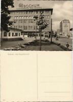 Ansichtskarte Bochum Partie Bahnhof Am Hauptbahnhof 1950