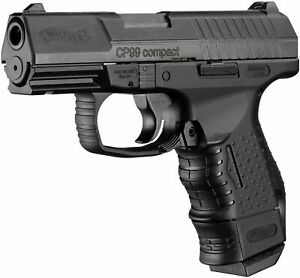 Umarex Walther CP99 Compact - Blowback CO2 .177 Cal BB Gun Air Pistol - 345 FPS