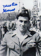 Wild Bill Guarnere Band of Brothers D-Day, Bulge WWII 101st AB SIGNED 4x6 PHOTO