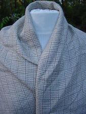 Chantal Fabrics 78% Viscose 22% Linen made in Italy brick plaid 3 yards