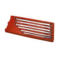 Sidchrome METRIC FLAT RING SPANNER SET SCMT21202 6Pcs Extra Long *Aust Brand