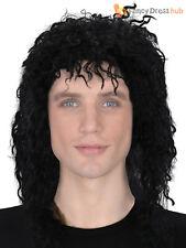 Mens Guy Wig Adults Halloween Michael Jackson Thriller Fancy Dress Accessory