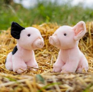 ANIMIGOS WORLD OF NATURE 21cm PIGLET - 37252 PLUSH SOFT TOY TEDDY PLUSHY PIG