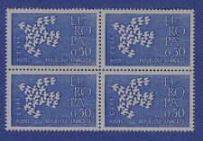 S61) Timbres France Neuf**MNH**TBE Bloc x4 1961 n°1310 EUROPA
