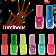 Neon Fluoreszierend Leuchtend Leuchtet im Dunkeln Nagelkunst Farbwahl Nagellack