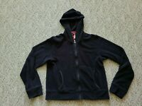 EUC Patagonia Women's Full Zip Fleece Hoodie Jacket Color Black Size Medium M