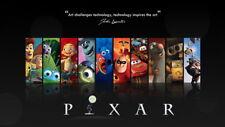 "001 Pixar - Toy Story  Wall E Nemo Cartoon 42""x24"" Poster"