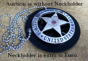 ##/ Collector police badge, U.S. Marshal, Fugitive Task Force