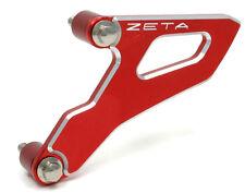 ZETA Drive Cover Guard Red CRF CRF250 CRF250X 04-09 CRF450R 2008 CR250 02-07