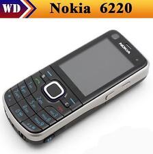 Original Nokia 6220c Unlocked 6220 Classic 3G GPS Mp3 Player FM Radio Cell Phone