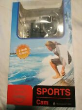 Full HD 1080p Sports Cam 2.0-inch Screen Waterproof 30m