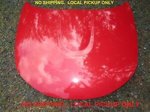 06 Mazda Miata MX-5 HOOD Velocity Red 27A bonnet engine cover factory nc oem D4