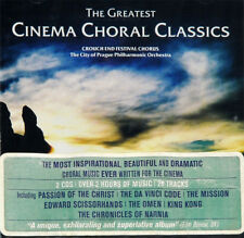 THE GREATEST CINEMA CHORAL CLASSICS, ORG 2006 UK 2CD, NEW - SEALED!