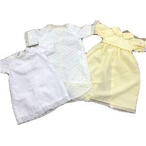 Cabbage Patch Kids Vintage Nighties x 3 1980s CPK Night Shirts
