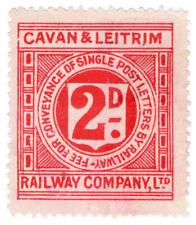 (I.B) Cavan & Leitrim Railway : Letter Stamp 2d