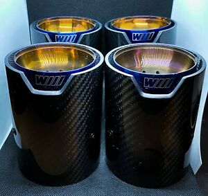 BMW M2/M3/M4 Burnt Gold M Performance Exhaust Tips for MPE Exhaust System