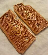 Cherry Wood Free Mason Grips with Masonic Symbol - Will fit Sig Sauer P238