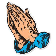 "Christian Prayer Jesus car bumper sticker decal 5"" x 4"""