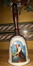 Antique Norman Rockwell 1986 Gorham China Bell