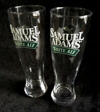 Nice Lot 2 New Unused Samuel Adams White Ale Beer Glasses Pints