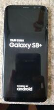 Samsung Galaxy S8 PLUS + G955U   Midnight Black Unlocked 14023
