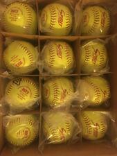 "3 Dozen Ad Starr Spirit Softballs Pro Leather Poly Core. 11"" 8U & 10U"