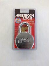 AMERICAN LOCK A700, Padlock, Steel, Keyed Different, Gray