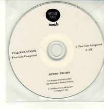(DC944) Analogous Doom, Five Cube Compound - DJ CD