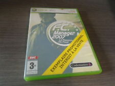 pour xbox 360 fc manager 2007