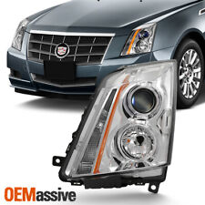 Fits 2008-2014 Cadillac CTS Left Driver Side Projector Headlight Light 08-14