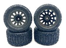 Arrma VORTEKS 4x4 3s BLX - TIRES & Wheels (tyres rims DBoots Katar ARA4305V3