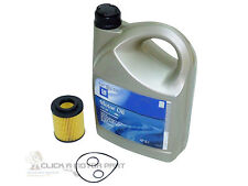 VAUXHALL ASTRA H MK5 1.7 CDTi 5W30 GM ENGINE OIL 5LT & OIL FILTER SERVICE KIT
