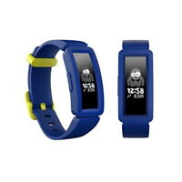🔥NEW Fitbit Ace 2 Activity Tracker For KIDS Smart Watch - Night Sky/Neon Yellow