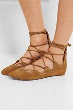 Isabel Marant Leo Camel Studded Suede Shoes 40 Fits 39 Better