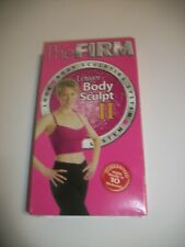 VHS: The Firm Lower Body Sculpt II New Sealed